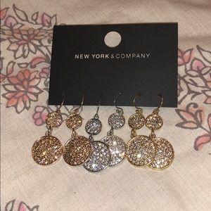 NWT set of 3 earrings